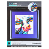 Colorful Cow Counted Cross Stitch Kit